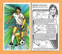England Gerry Francis Queens Park Rangers Midfield Play